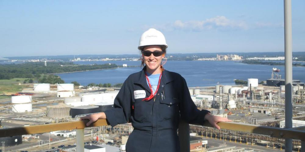 Marissa Tierno completed a summer internship at the Paulsboro Refining Company in southern New Jersey.  Was a great experience!